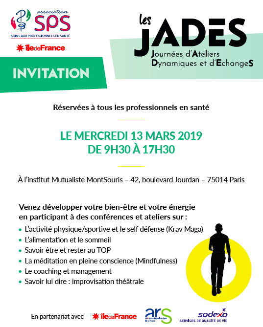 Invitation JADES par l'association SPS